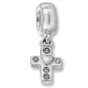 Authentic pandora cross charm